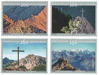 Liechtenstein - Croix des sommets - Sepac - Série neuve 4v