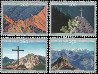 Liechtenstein - Bjergtindernes kors Sepac - Postfrisk sæt 4v