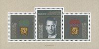 Liechtenstein - Prins Alois 50 år - Postfrisk miniark