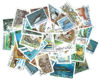 WWF - 50 different stamps