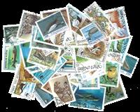 WWF 50 forskellige Frimærker - Fin pakke
