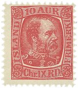 ISLAND AFA 39, 10 aur Kong Chr IX