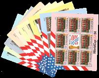 Komplet ark sæt med 24 VM ark 1994 komplet
