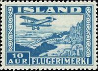 Island -  AFA 175 - Luftpost