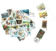 WWF - 50 stamps + 5 envelopes