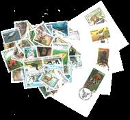 WWF 50 Frimærker + 5 kuverter - Fin pakke