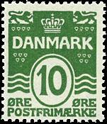 Danmark  - AFA 124 - Bogtryk