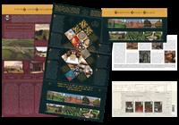Grande-Bretagne - Hampton Court - Présentation souvenir
