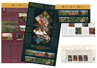 Great Britain - Hampton court - Presentation pack