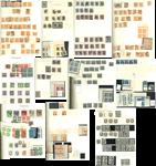 Danemark - Grande collection de doublons