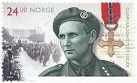 Norvège - 100ann.Gunnar Sonsteby - Timbre neuf