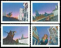 Danemark - H.C. Andersen - Série neuve 4v