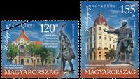 Ungarn - Frimærkets dag - Postfrisk sæt 2v
