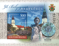 Ungarn - Frimærkets dag 2018 - Postfrisk miniark