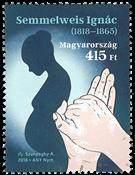 Ungarn - Håndhygiejne - Postfrisk frimærke
