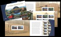 Île de Man - Chemin de fer électrique Manx - Carnet de prestige neuf