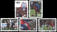 Cambodge - Football - Série neuve 5v