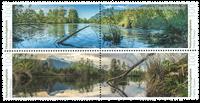 Liechtenstein - Naturskønne områder Hälos - Postfrisk sæt 4v