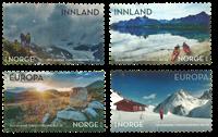 Norge - Turistforening - Postfrisk sæt 4v