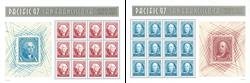 Etats-Unis - Franklin et Washington - Série de feuillets neufs