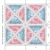 Etats-Unis - Timbre sur timbre - Bloc-feuillet neuf