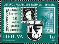 Lituanie - Timbre sur timbre - Timbre neuf