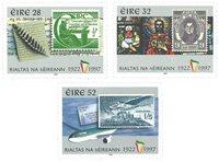 Irlande - Timbre sur timbre - Série neuve 3v