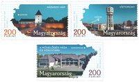 Ungarn - Byer - Postfrisk sæt 3v