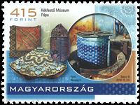 Ungarn - Kékfestö Museum - Postfrisk frimærke
