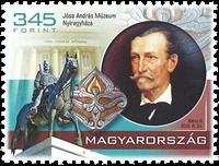 Hongrie - Musée Jósa András - Timbre neuf