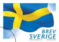 Suède - Drapeau - Timbre neuf