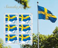 Suède - Drapeau - Bloc-feuillet neuf