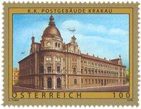 Østrig - Krakau - Postfrisk frimærke