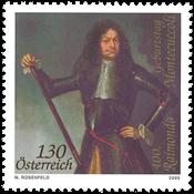Østrig - R.Montecuccoli - Postfrisk frimærke
