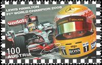 Autriche - Lewis Hamilton - Timbre neuf