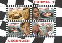 Østrig - Formel 1 - Postfrisk miniark