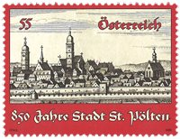 Østrig - St.Pölten - Postfrisk frimærke