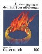 Østrig - Nibelungens ring - Postfrisk frimærke
