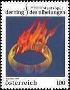 Autriche - L'anneau du Nibelung - Timbre neuf