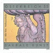 Østrig - Vievandsfad - Postfrisk frimærke