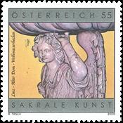 Autriche - Bol pour eau bénite - Timbre neuf