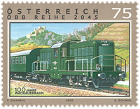 Østrig - 100år Wachauerbahn - Postfrisk frimærke