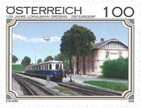 Austria - Railway Drösing-Zistersdorf - Mint stamp