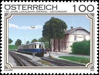Autriche - Chemin de fer Drösing-Zistersdorf - Timbre neuf