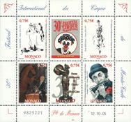 Monaco - Festival du cirque - Bloc-feuillet neuf