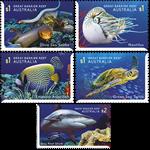 Australie - Safari sous-marin - Série neuve 5v