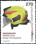 奥地利新邮 提坦头盔纪念邮票 创新 技术 - 新票