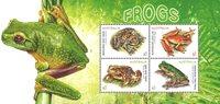 澳大利亚新邮 珍稀青蛙物种 自然 动物 生态保护 - 新票小全张