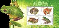 Australien - Frøer - Postfrisk miniark