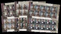 Jersey - Første verdenskrig - Postfrisk arksæt